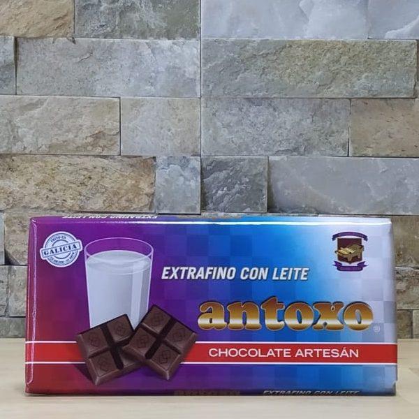 Chocolate extrafino con leche Antoxo